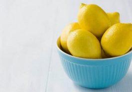 Уборка в доме с лимоном