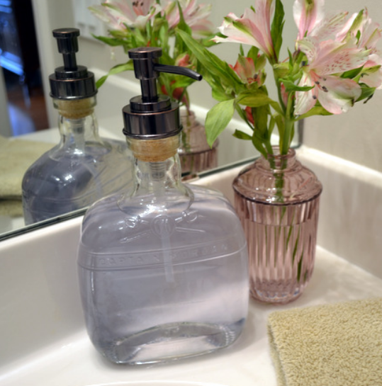 Как сделать дозатор дял мыла из бутылки