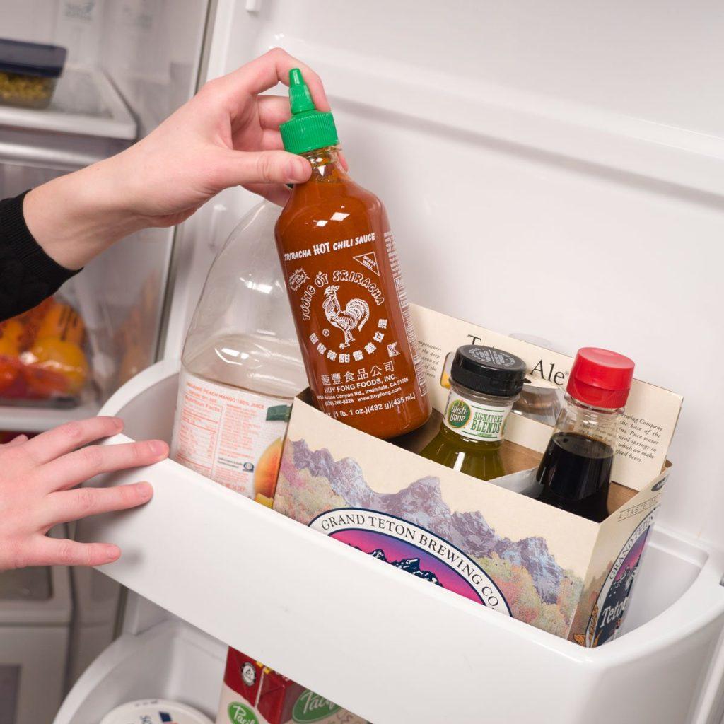 Соусы в холодильнике