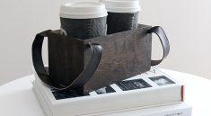 Ящик из фанеры для переноски кофе