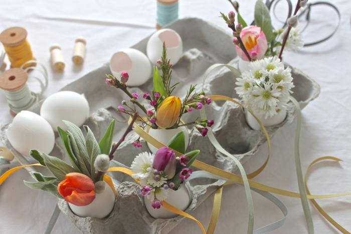 Яйца и букеты