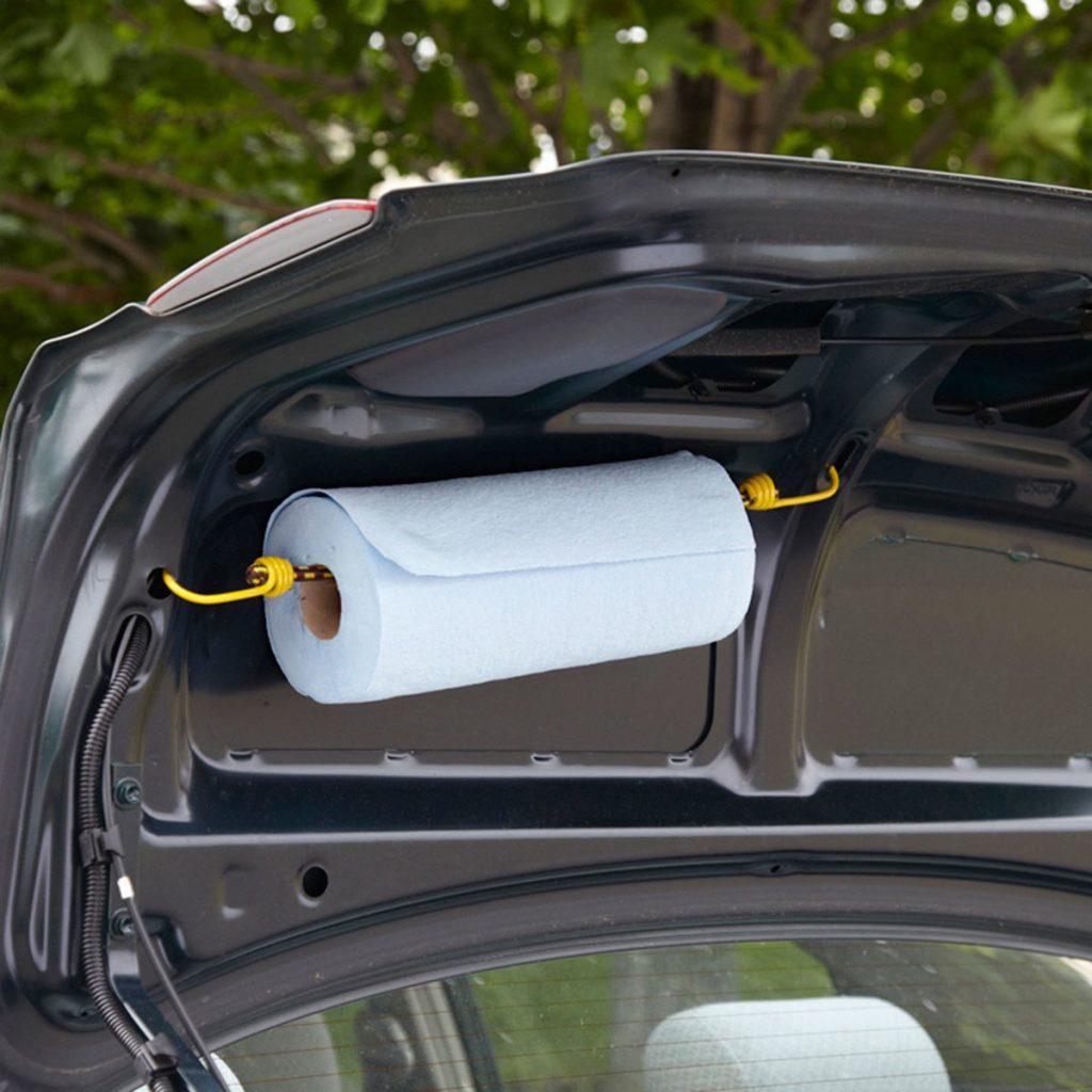 Полотенца в машине