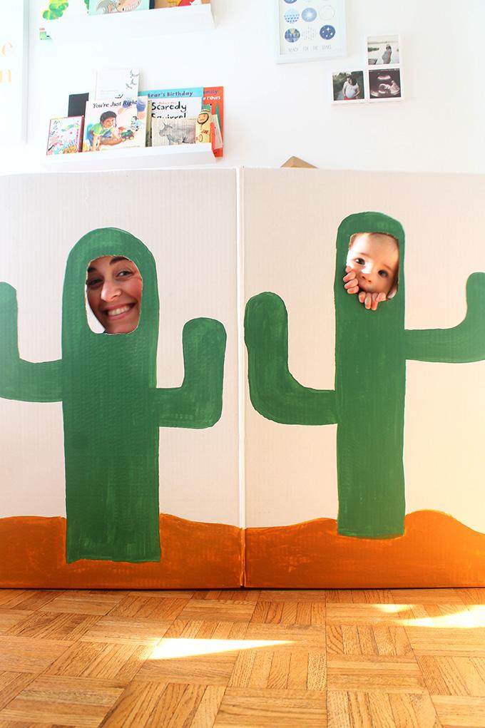 Рамка-кактус для создания фото