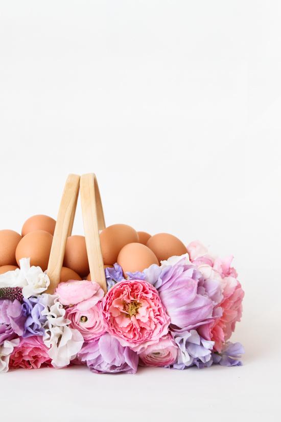 Яйца и корзина
