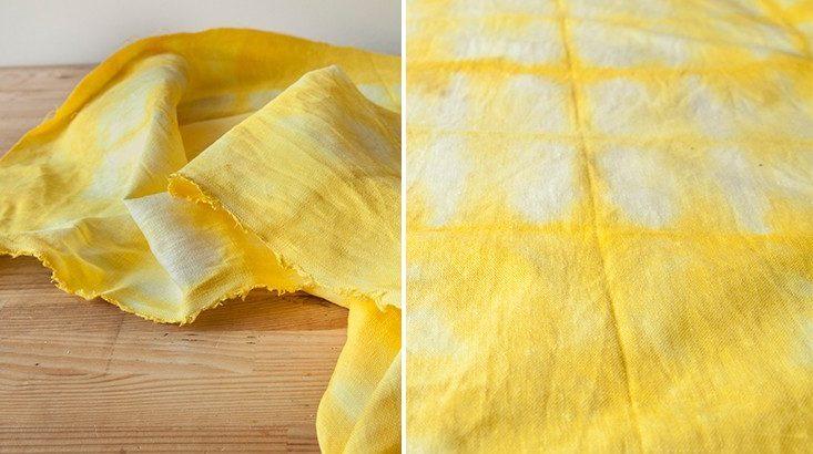 Как покрасить ткань