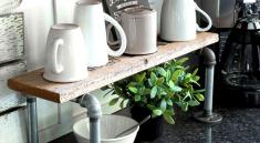 Полка-стойка на кухню