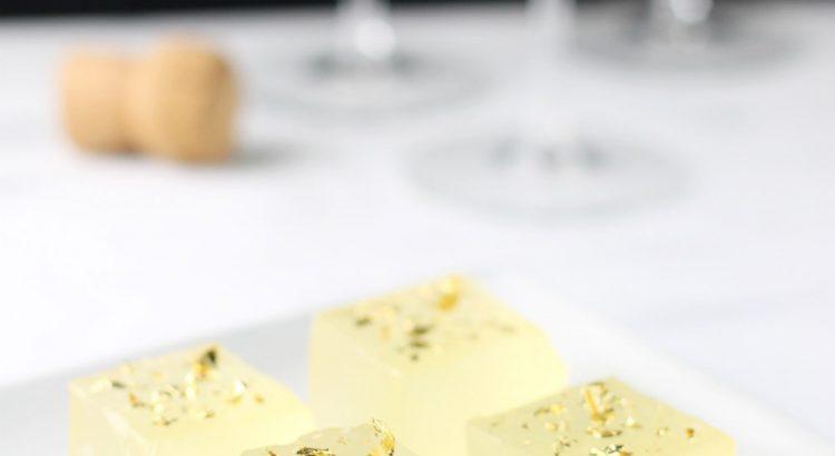 Как сделать желе из шампанского