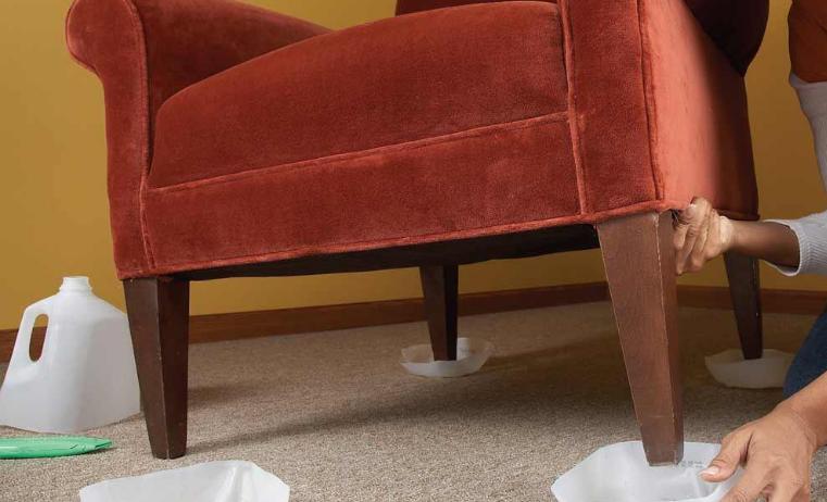 Перемещение мебели