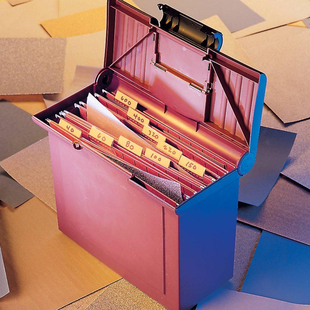 Ящик для шлифовки