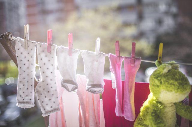 Защита одежды от выцветания