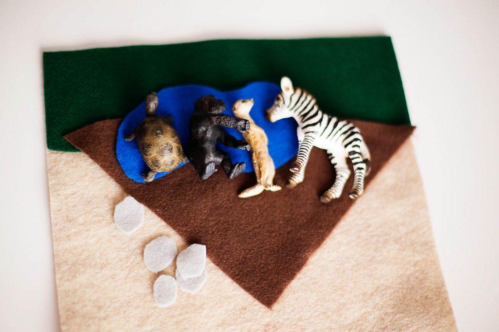 Ткань и игрушки