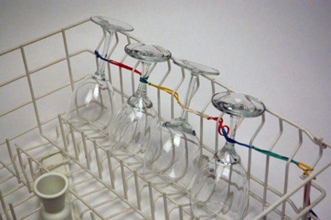 Резинка для бокалов в посудомойке