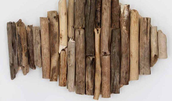 Деревянный декор на стену