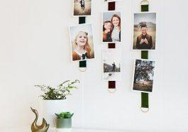 Как повесить фотографии