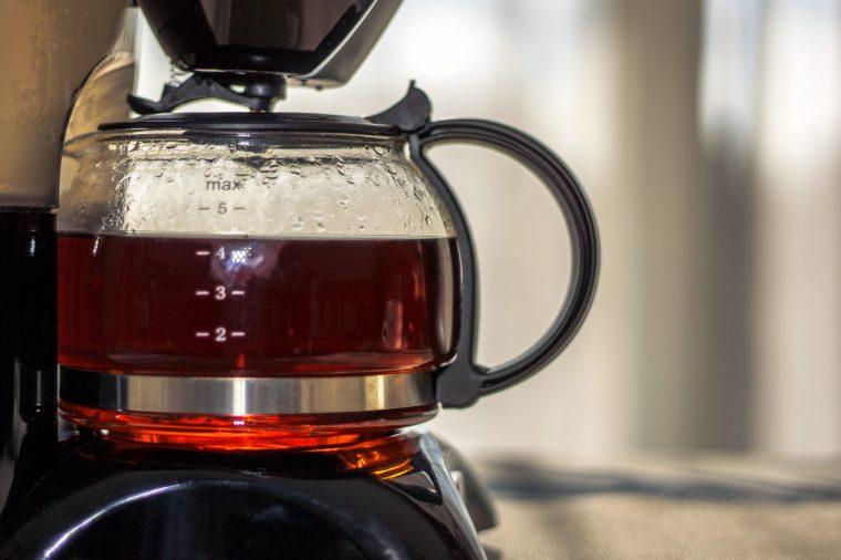 Чистая кофеварка