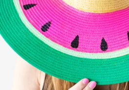 Декор для соломенной шляпы