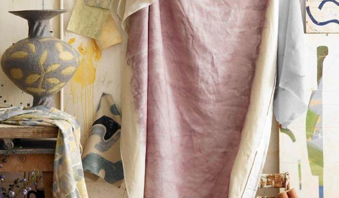 Как покрасить ткань каркаде