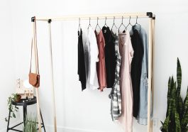 ПРостая вешалка для одежды