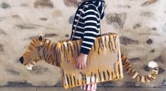 Картонный костюм тигра