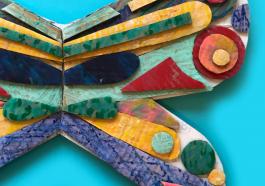 Как сделать крылья из картона