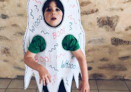 Как сделать костюм привидения