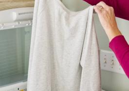 Три причины для стирки новой одежды