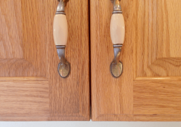 ЧИстка кухонных шкафчиков