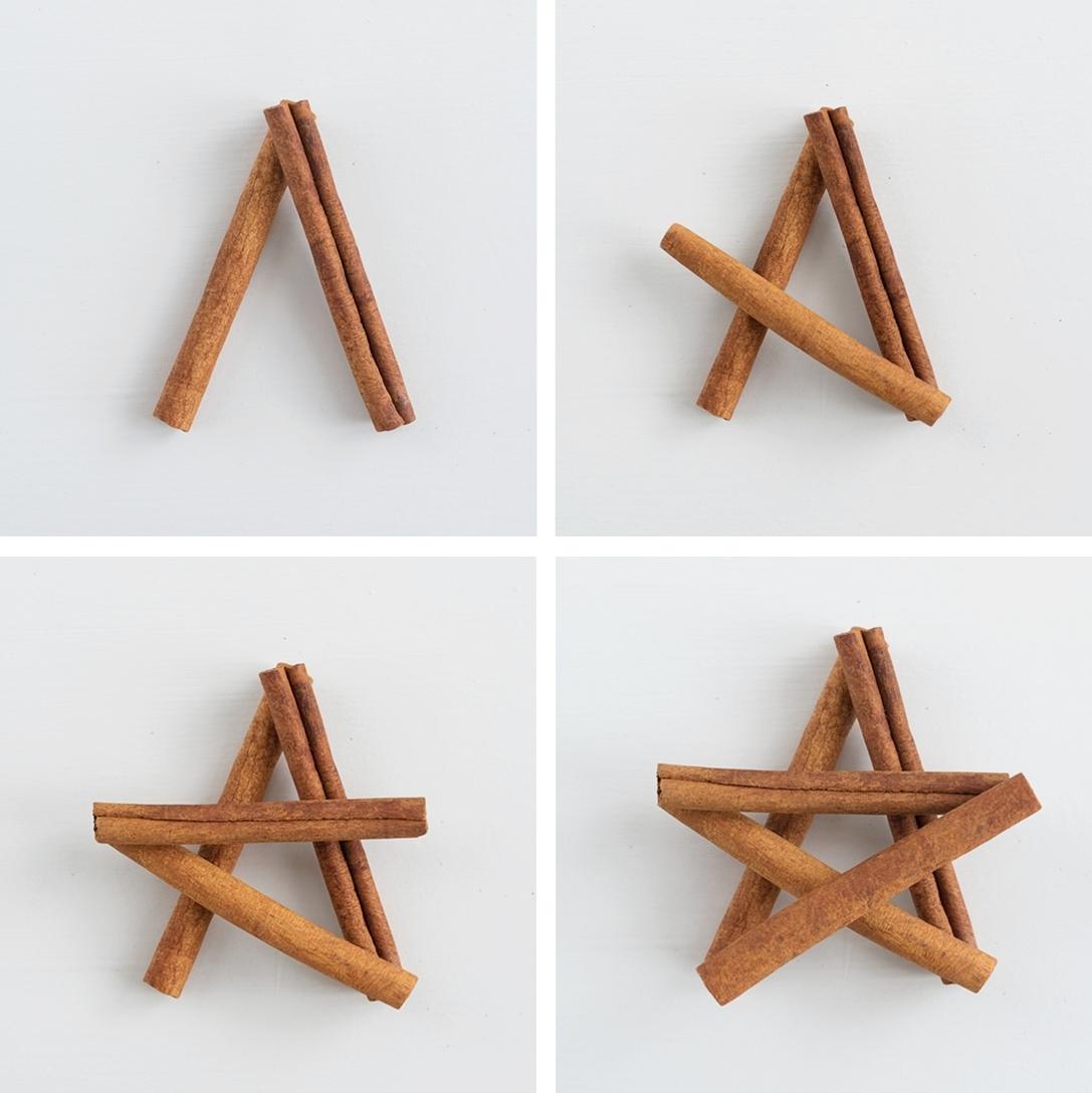 Звезда из корицы