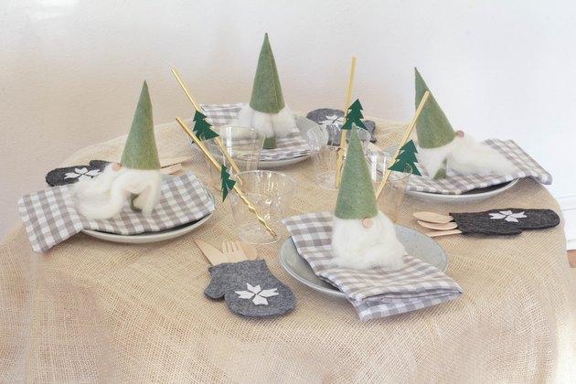 Идеи для декора новогоднего стола