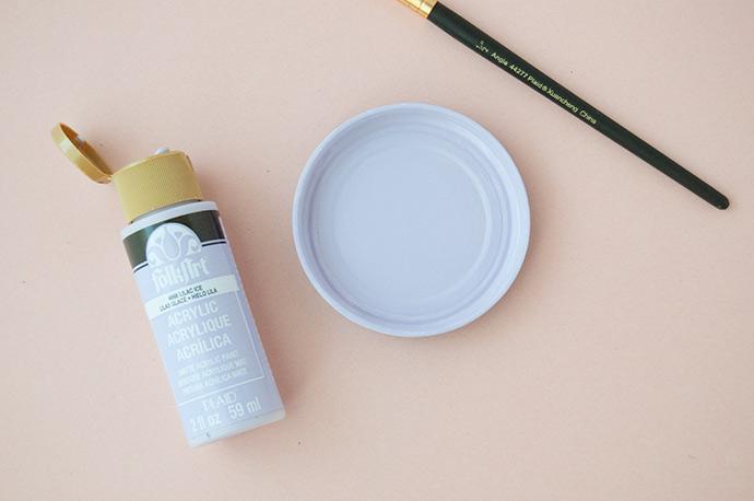Покрасить крышку