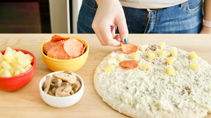 Лайфхаки для любителей пиццы