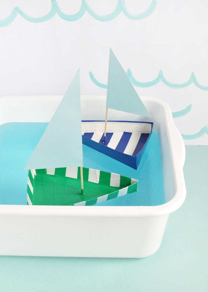 Кораблики на воде