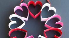 Венок из сердец