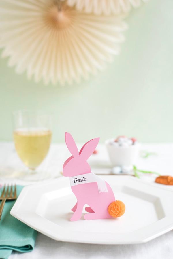 Кролик на тарелке