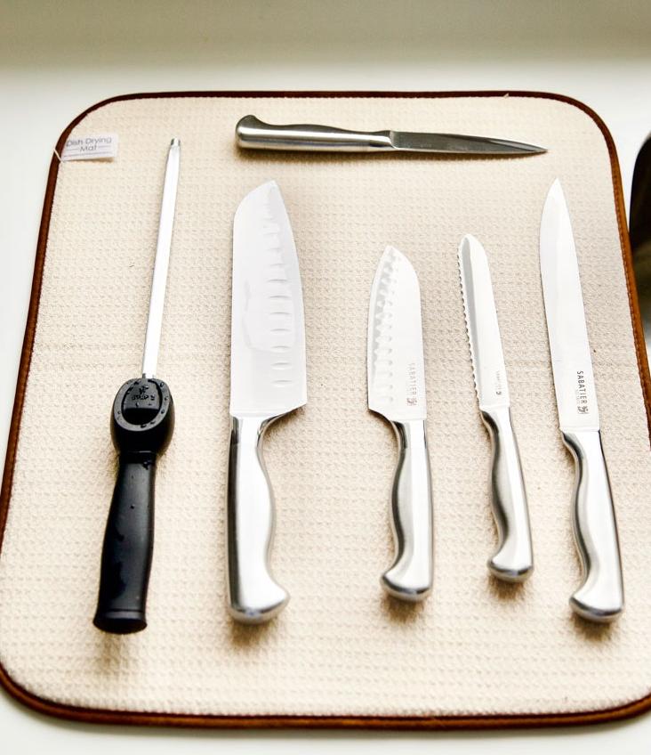 Мытье ножей