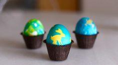Силуэт на яйцах