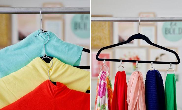 Как расширить пространство гардероба