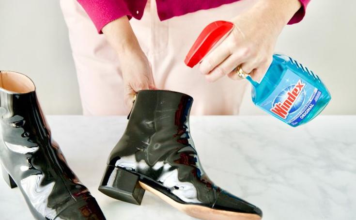 Как придать блеск обуви