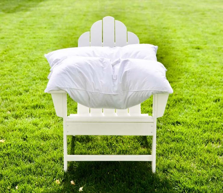 Как освежить подушку