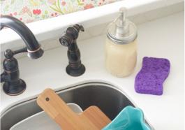 Как сделать мыло для посуды